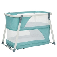 Valdera Baby Bed European Children Bed Multi function Table Baby Bed Portable Cradle Bed