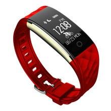 Zimingu S2 смарт-браслет сердечного ритма Мониторы Smart Band Фитнес трекер спортивные трекер дистанционного Камера смарт-браслет PK Mi band 2