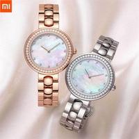 Xiaomi TwentySeventeen Crystal Quartz Wrist Watch for Women 64 Artificial Gem Wristwatch Ladies Fashion Christmas Gift Birthday Smart Wristbands