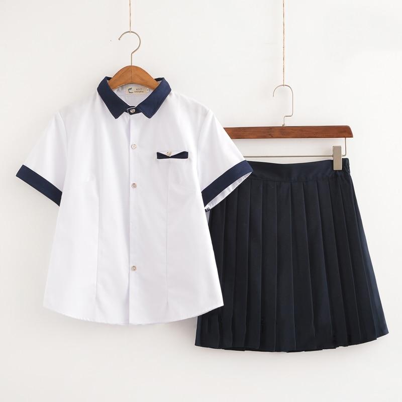 New Arrival Japanese School Uniform Girls Classic Service Sailor Suits Graduation Uniform For Sexy Girls S