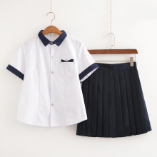 New Arrival Japanese School Uniform Girls Classic Service Sailor Suits Graduation Uniform For Sexy Girls S-3XL