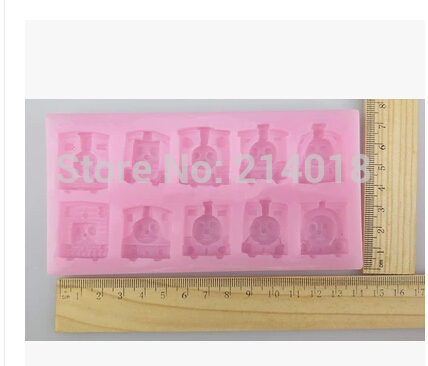 sell hot thomas and his friends silicone mold chocolate mold fondant cake mold Jelly pudding Accord to the food safety of FDA