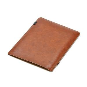 Image 2 - Venta funda de bolsa súper delgada de manga Ultra delgada, Funda de cuero de microfibra para bolsa de Computadora Portátil para MacBook Air Pro 13 15 16 2018 Mac 12