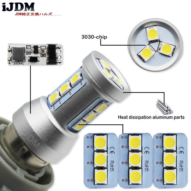 LED P13W Canbus Error Free- Great fit for Montero Sport DRL for model 2016 onwards