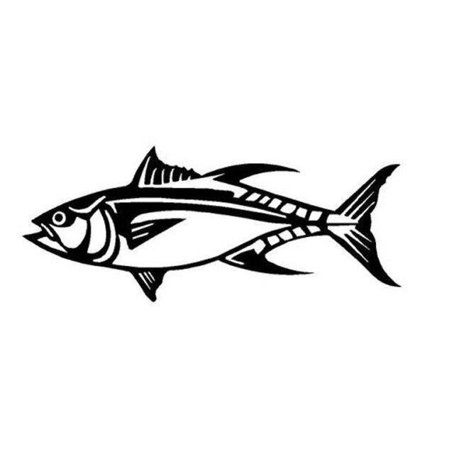 17873 Cm Ikan Tuna Dekorasi Aksesoris Mobil Styling Keren Populer