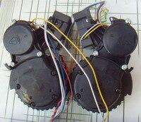Elektrikli Süpürge için sol sağ tekerlek Ecovacs Deebot için D63 D620 D630 D650 D660 D680 D68 robotlu süpürge parçaları tekerlek değiştirme