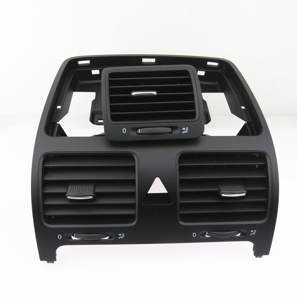 FHAWKEYEQ Dashboard Center Air Conditioning Outlet Air Vent For VW Jetta 5 Golf MK5 Rabbit 1KD 819 728 1KD 819 703 1K0 819 709 киносценарии