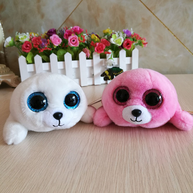 Ty Beanie Boos Collection Icy Pierre Seal Plush Toy Big Eyed Stuffed Animal Doll Girls Gift Kids Toy Couple Doll Christmas Bright And Translucent In Appearance Back To Search Resultstoys & Hobbies