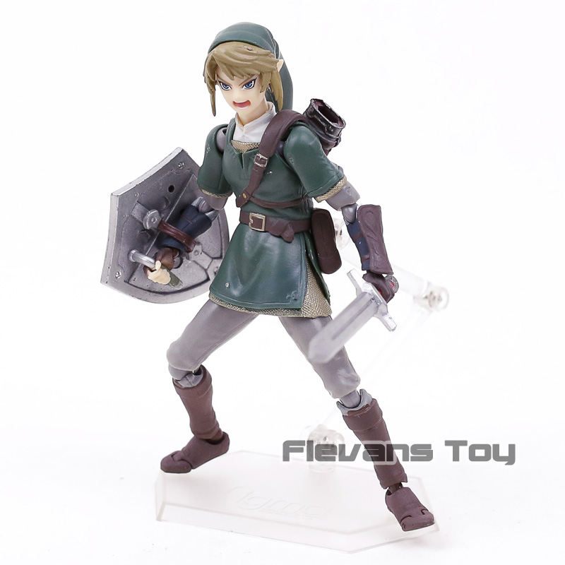 The Legend of Zelda Twilight Princess figma 320 Link Deluxe Edition Action Figure Model Toy