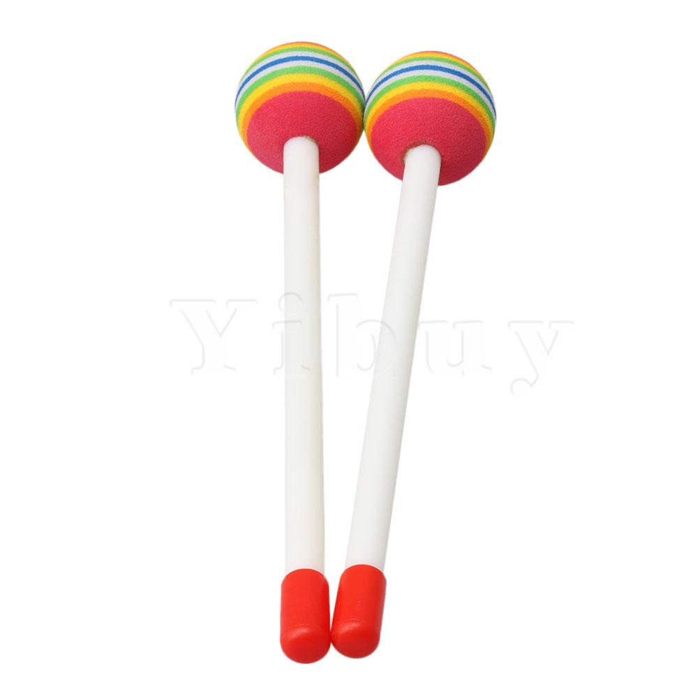 Lollipop Drum Baby Kids Mallet Music Rhythm Instruments For Early Education Toy N10 Dropship Home