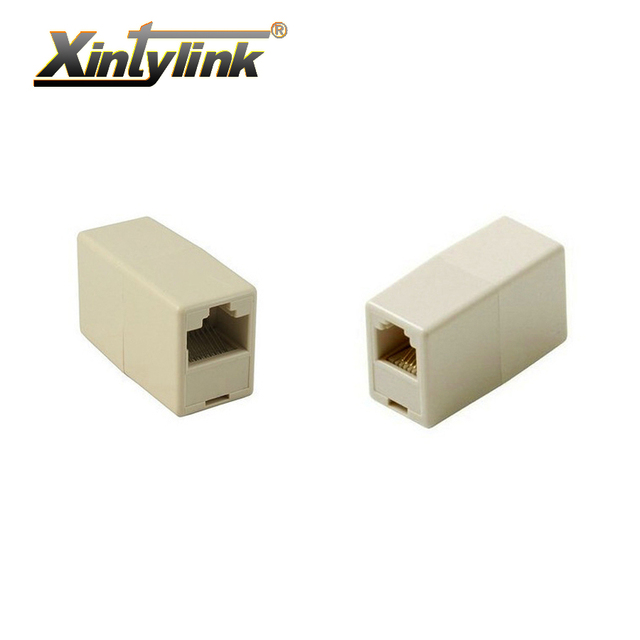 Remarkable Xintylink Rj45 Socket Connector Jack Cat5 Cat5E Cat6 Ethernet Cable Wiring Cloud Hisonuggs Outletorg