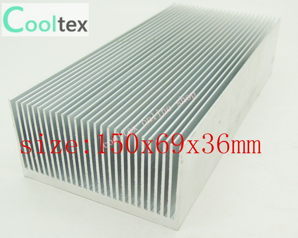 4pcs 150x69x36mm  Aluminum HeatSink,Chip CPU GPU VGA RAM LED IC HeatSink for Electronics,Computer Transistor 20pcs lot 22x22x10mm aluminum heatsink for chip cpu gpu vga ram ic led heat sink radiator cooler cooling