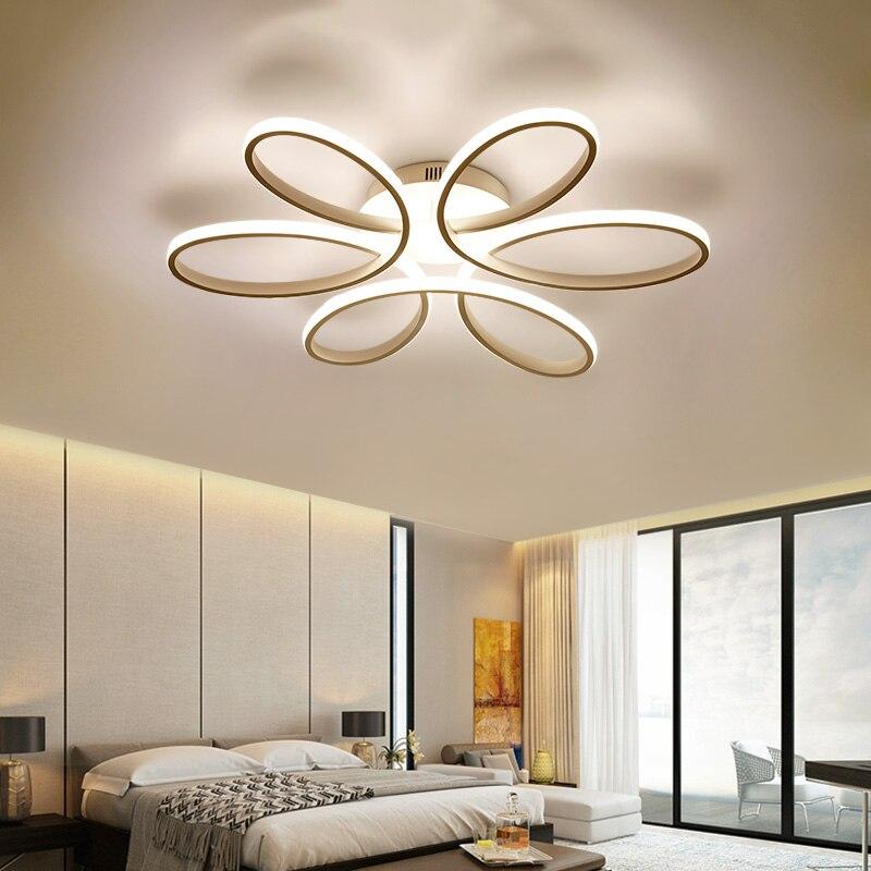 2017 nuevas lámparas modernas LED para sala de estar comedor ...