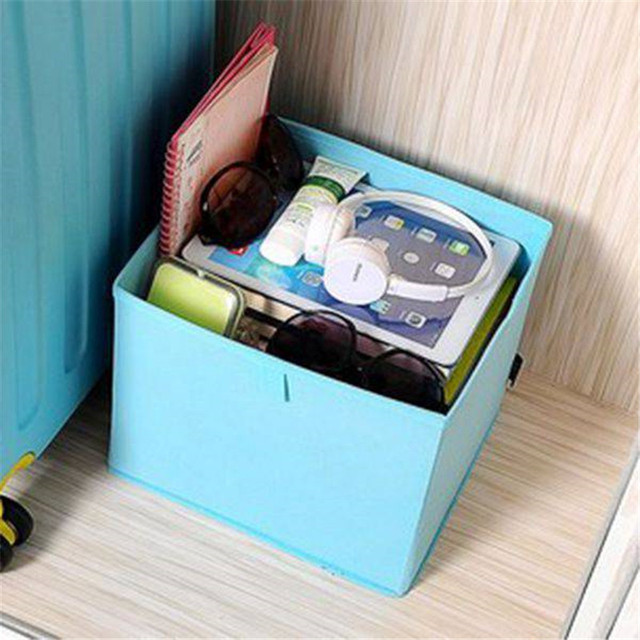 Kids Childrens Boys Girls Storage Toy Box Books Chest Clothes Ottoman Trunk 1