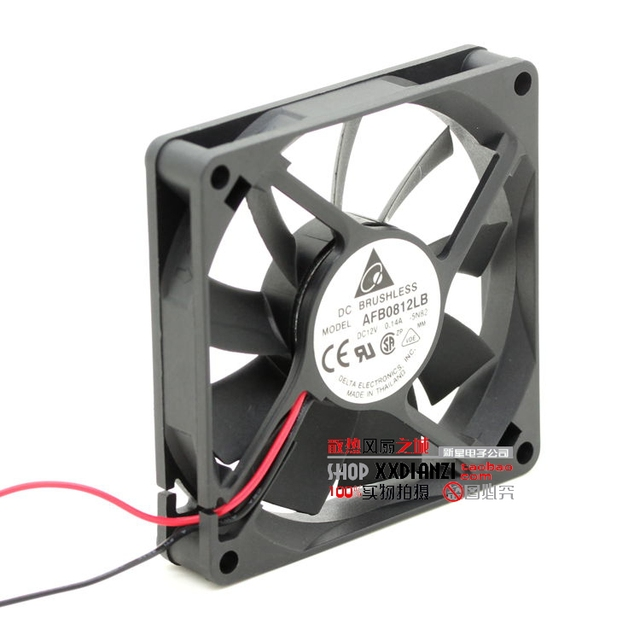 Original 8015 12 V 0.14A AFB0812LB 80*80*15 ventilador de refrigeração