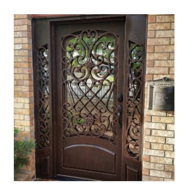 Iddis steel door design steel door grill design front door Front door grill designs india