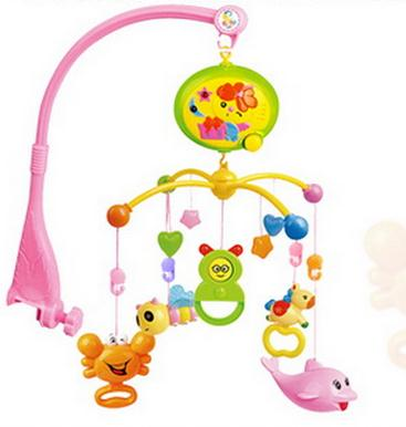 Baby Rattles In The Crib  Baby Toys  Spin  Musical  Baby Mobile Musical Bed Bell With 20  Music For  0-12 Months