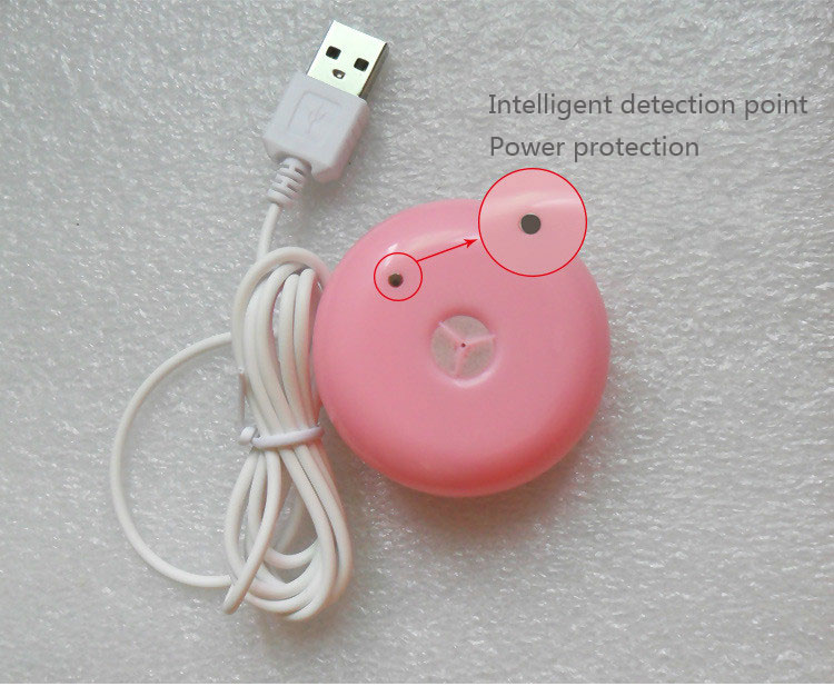 Details about  /Hot Mini Usb Air Humidifier Donuts Purifier Aroma Diffuser Steam For Office Home