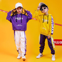 3731ceea48ea Children's clothing For Baby Girls and Boys Spring Autumn 2019 hip-hop Hoodie  jazz dance