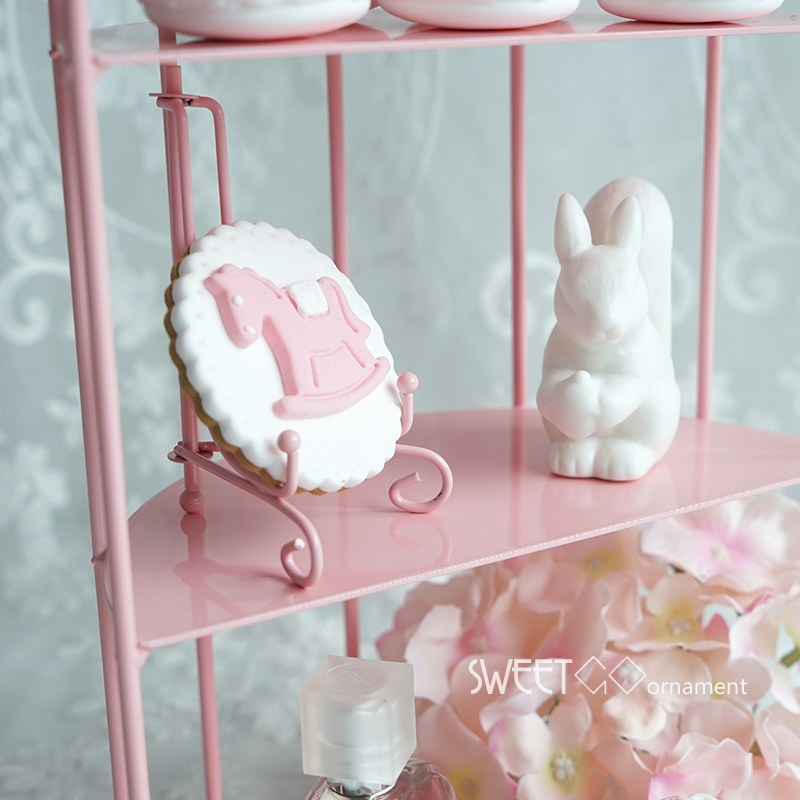 Ev ve Bahçe'ten Standlar'de SWEETGO için Kuş Kafesi cupcake pembe dekorasyon araçları düğün tatlı tatlı masa tedarikçisi fırıncı vitrin kek standı'da  Grup 3