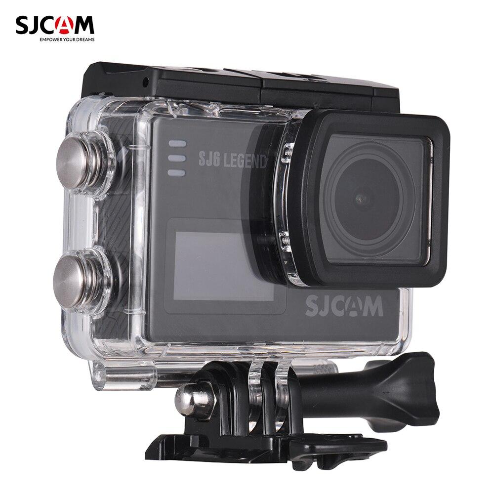 In Design; Neueste Kollektion Von Sjcam Sj6 Legende 4 Karat/24fps Wifi Action Kamera 16mp Mit 166 Grad Weitwinkel Unterstützung Gyro Stabilisierung Externe Mikrofon Novel