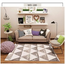 Abstract Design Soft Nordic Style Carpets For Living Room Bedroom Kid Rugs Home Carpet Floor Door Mat Simple Hot Area Rug