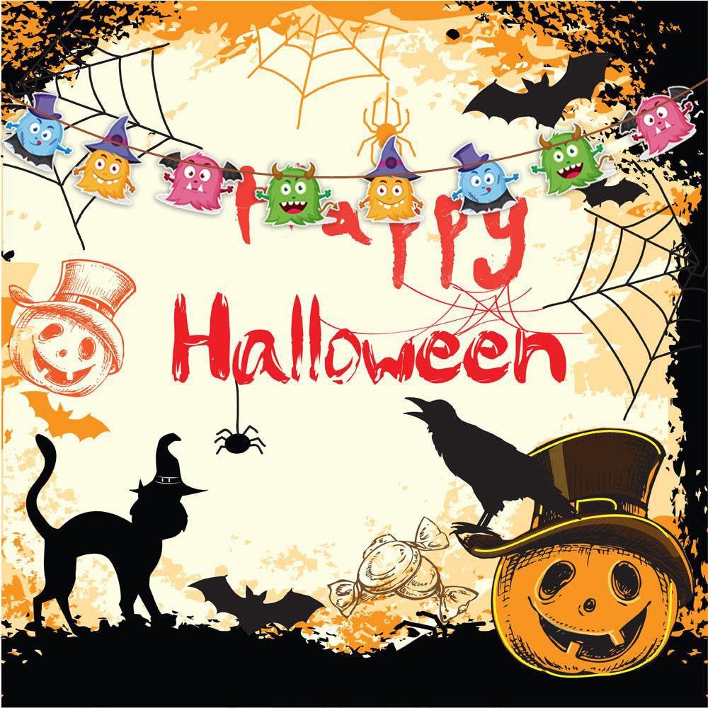 Aliexpress.com : Buy Hot Cute Halloween Party DIY Banners