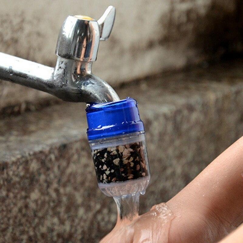2018 Кухня угольный фильтр для воды кран бытовой очиститель воды удаления ржавчины осадка фильтрации взвешенных