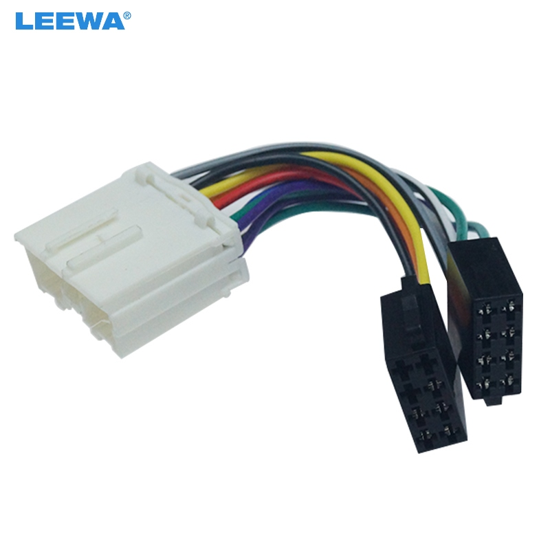 Best Deal #9cfd1 - LEEWA Car Stereo Conversion Plug Wire Adapter For  Mitsubishi To ISO CD Radio Wiring Harness Original Head Units Cable #CA6096    Nd.rankingrk.coRankingrk