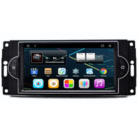 6.95 Android Car Multimedia Stereo DVD GPS Navigation for Jeep Dodge RAM Pickup Truck Avenger Caliber Challenger Dura 2006 2007