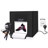 PULUZ фотостудия световой короб 80 см съемки шатра света для ювелирных изделий игрушки включают разъем АС и 3 фонов распродажа фотография Softbox