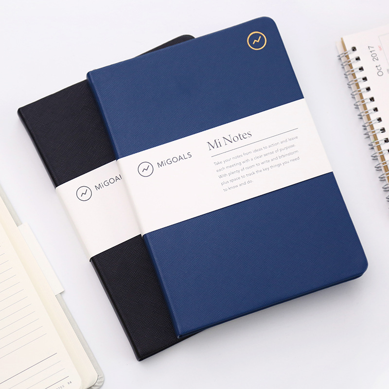 2018 New Classic Korean Stationery School&Business Faux Leather Hardcover Lined Notebooks And Journals Dairy Book Sketchbook A5 fromthenon 365 notebooks and journals faux leather cover personal daily monthly weekly planner kawaii stationery school supplies