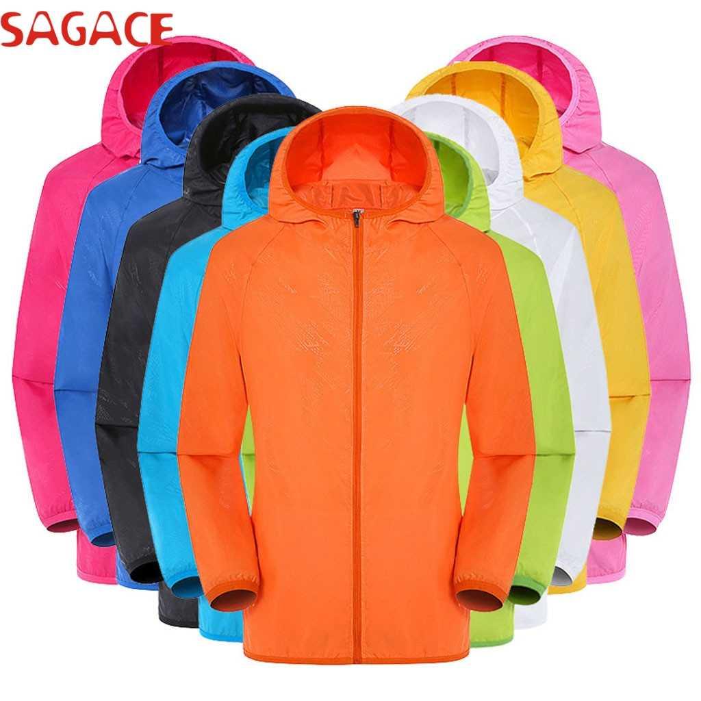 SAGACE куртка мужская стильная одноцветная куртка ветрозащитная ультра-светильник Верхняя одежда Пальто непромокаемая куртка ветрозащитная куртка hombre 09