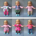 "Free shipping 14"" 35 cm Reborn Baby Doll Clothes dress set for baby doll birthday gift"