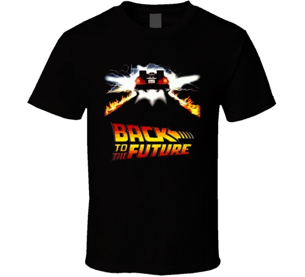 Back To The Future Movie T Shirt