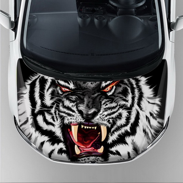 On sale car bus body sticker design custom graphics car hood bonnet vinyl decal sticker decoration self adhesive decal wrap film in car stickers from