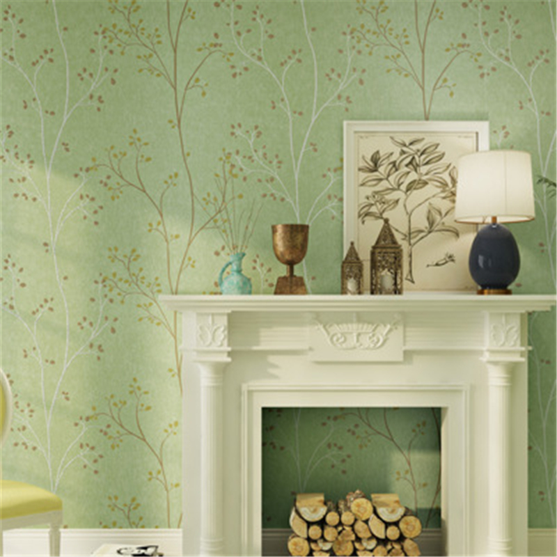 living country bedroom rustic paper non leaf twig american dark woven covering twigs nordic woods