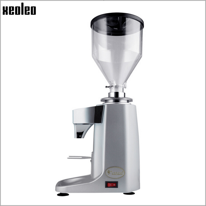 Xeoleo Professional Coffee Grinder Commercial Coffee Powder Milling machine Electric Coffee Bean Grinding machine Coffee maker mdj d4072 professional commercial household coffee grinder high quality electric coffee machine advanced grinding 220v 150w 30g page 2