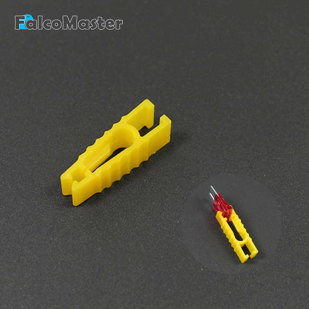 Nyaman Plastik Mobil FUSE Klip Digunakan untuk Mobil Masukkan Fuse Kecil Mideum S M Ukuran