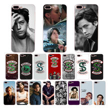 Cole Sprouse TV series Riverdale South Side Serpents Soft silicone cover For iPhone 7 8 6 6s plus XR XS max X 5 5S se phone case