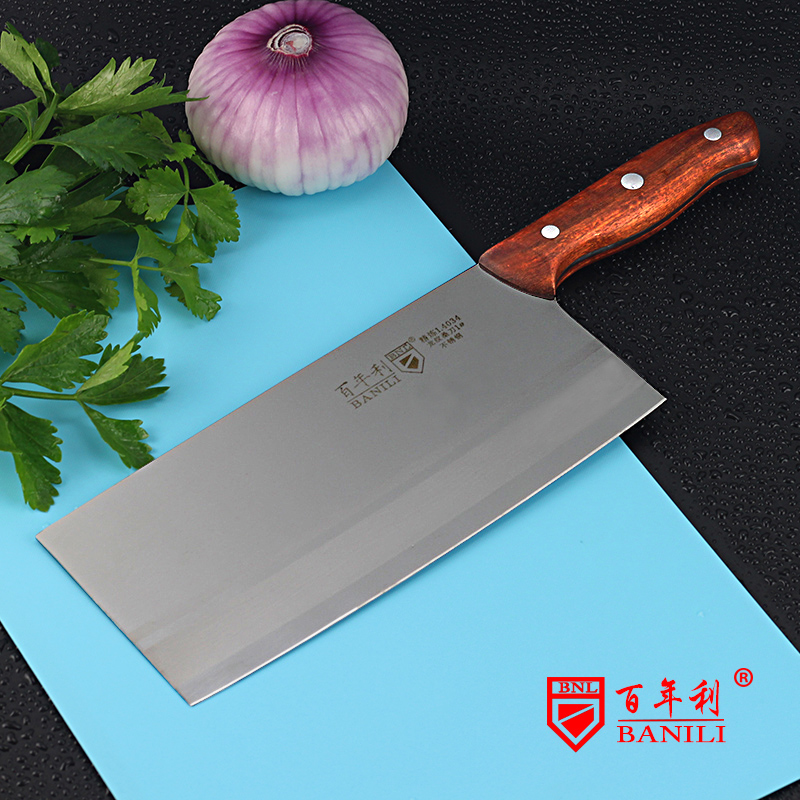 Free Shipping BNL Forged Stainless Steel Kitchen Slicing font b Knife b font Professional Chef Cutting
