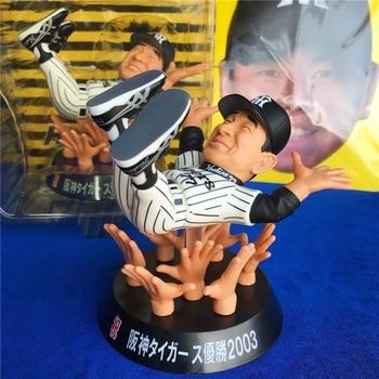 Original Garage Kit Classic Japanese Hanshin Tiger Sport Baseball Player Action Figure Collectible Model Loose Toy for Kids