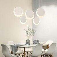 New Minimalism Modern Led Pendant Chandelier For Dining Kitchen Room Bar Living Room Deco Modern Hanging Chandeliers Lighting