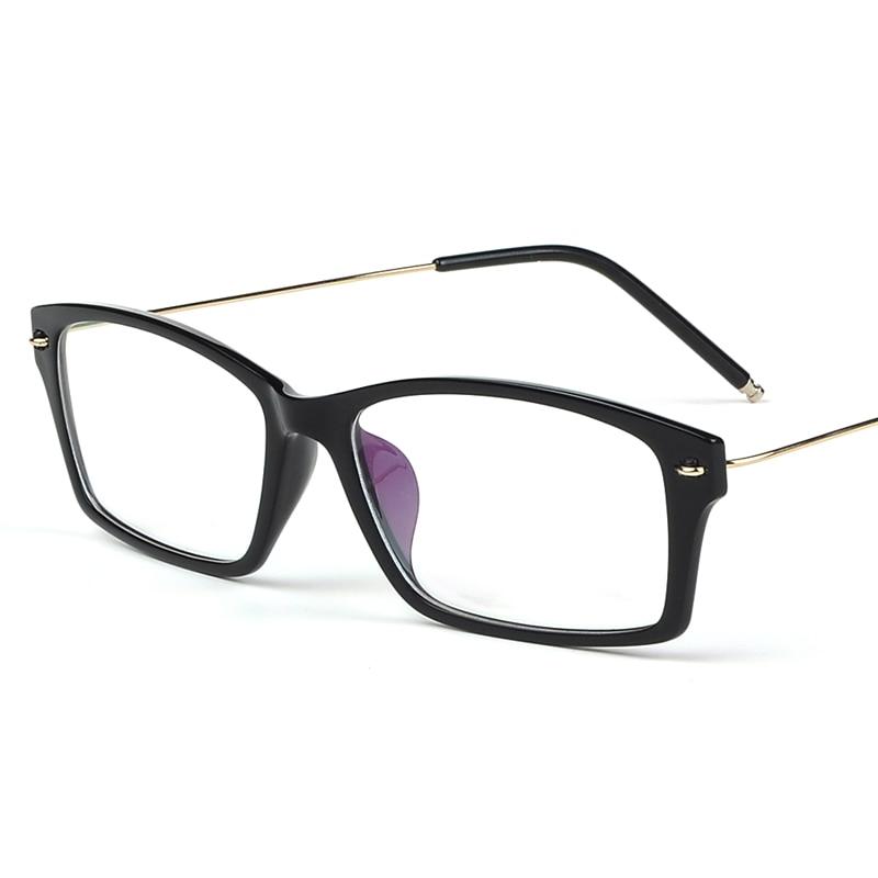XINZE 2017 Pure Titanium Brýle Girl Men Full Rim Optical Frame Prescription Spectacle Square Myopia Eye Glass 9006