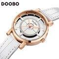 Doobo relojes de mujer de marca de lujo de cuarzo reloj ocasional mujeres de la manera relojes mujer ladies relojes de pulsera de negocios relogio feminino