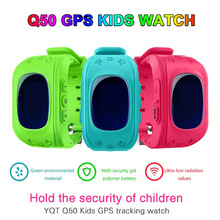 Q50 Children Kid Watch G36 smart watch GSM GPRS GPS Locator Tracker SmartWatch child protection wristwatch for iOS Android watch