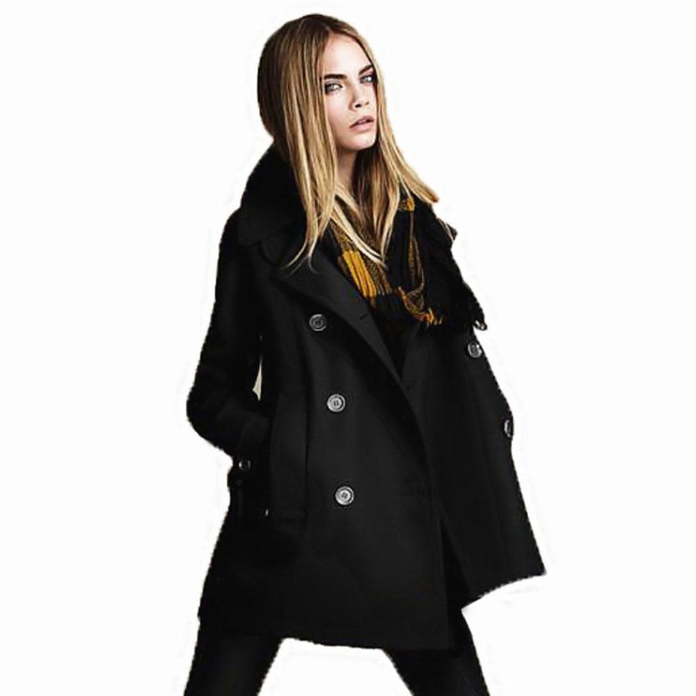 Compare Prices on Long Black Wool Coat Women- Online Shopping/Buy ...