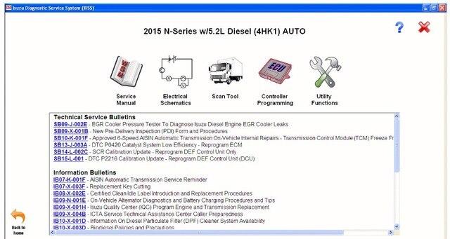Isuzu IDSS II 2017 - Isuzu Diagnostic Service System+license for many PCs