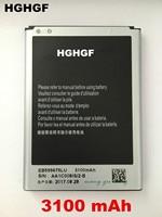 FGHGF Original New Battery For Samsung Galaxy Note 2 N7100 N7102 EB595675LU 3100mAh