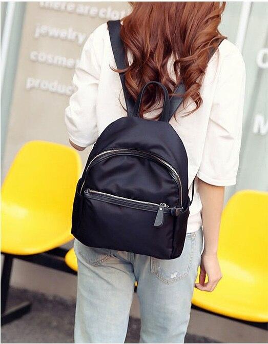 HTB1r89zafMTUeJjSZFKq6ygopXap 2019 New Women Backpacks Vintage Korea Brand Design Bag Travel Anti Theft Backpack Nylon High Quality Small Rucksack ZZL188